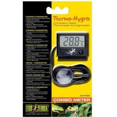 termometro exoterra para teerarios de camaleones