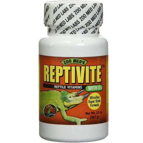 reptiles multivitamínico, completo con vitamina A y pre-vitamina D3