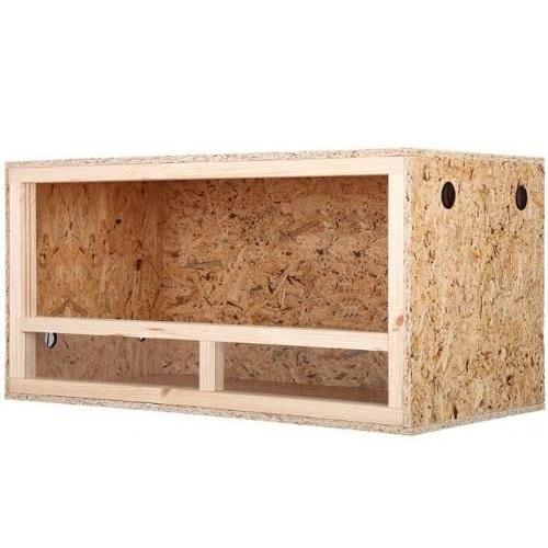 terrario de madera para higuanas