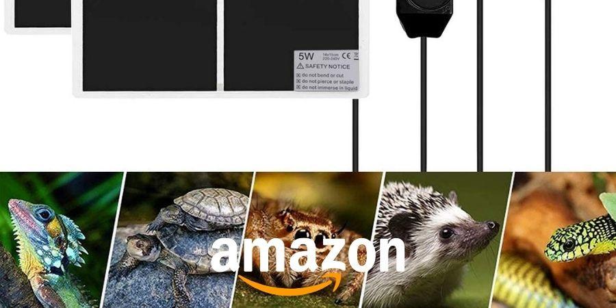 mantilla  electrica para camaleones